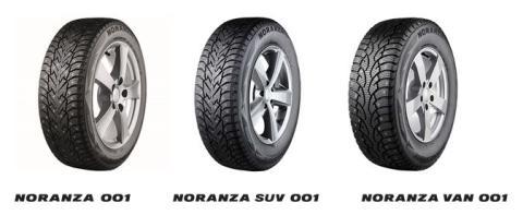 Uusi Bridgestone Noranza 001 –tuoteperhe
