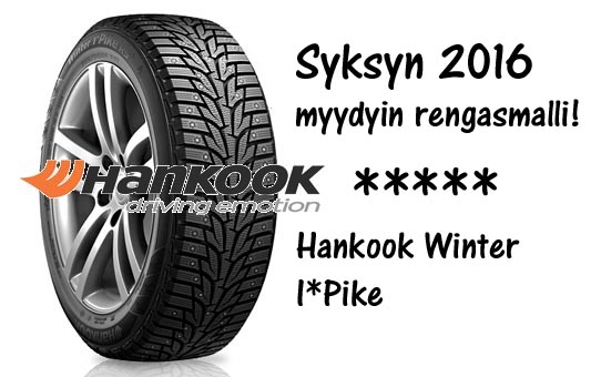 Hankook I*PIKE RS nastarenga