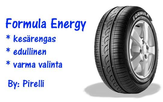 Formula ENERGY (BY PIRELLI)