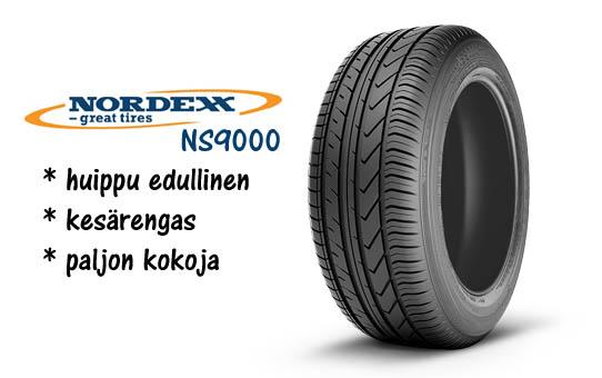 Nordexx NS9000 halpa kesärengas