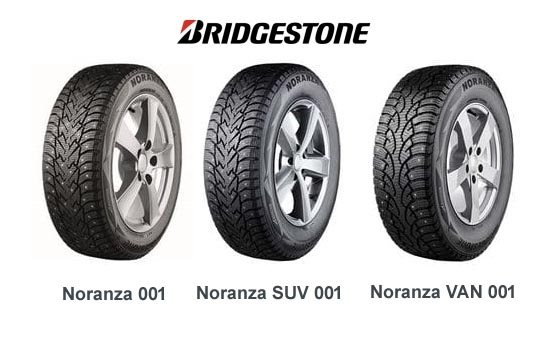 Bridgestone nastarenkaat Noranza 001